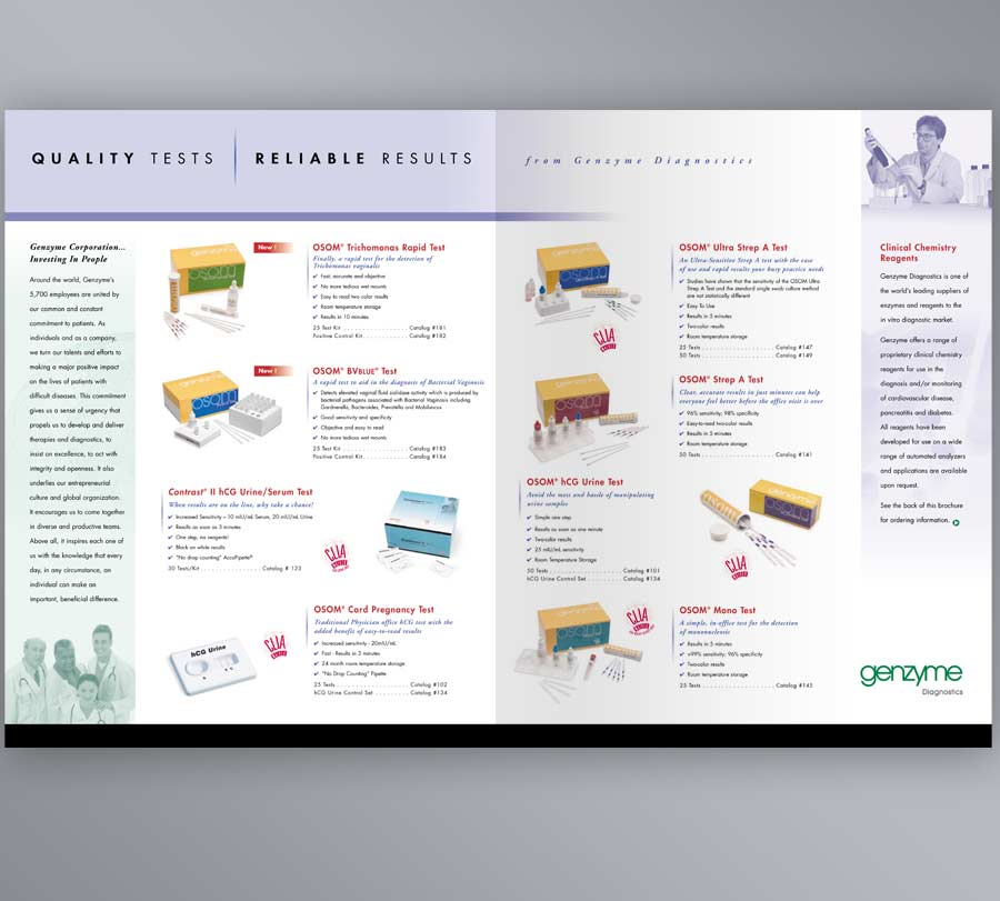 Brochure Design For Medical Products Company | Evolution Design