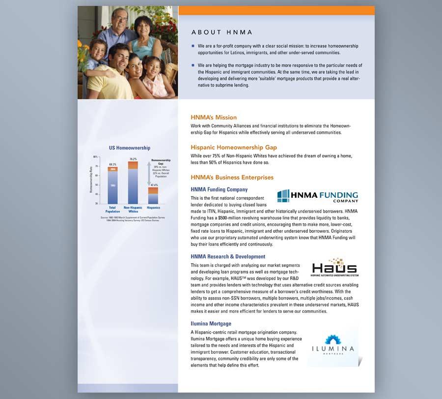 brochure design for financial industry evolution design