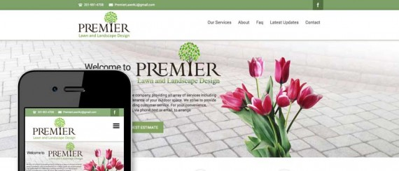 Theme Customization for Landscape Contractor
