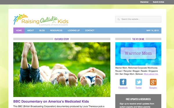 Theme customization and logo design for parenting blog site